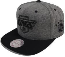 Mitchell & Ness Los Angeles Kings EU449 Jersey Grey Black Snapback Caps Basecaps