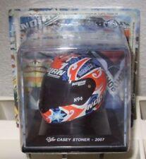 Cassey STONER (2007) HELM HELMET MOTO GP 1/5 Scala Altaya