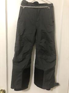 REI Kids Boys Insulated Snowboard Ski Snow Pants Size XS 6-7 Grey