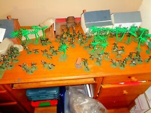 Painted 1/32nd plastic Vietnam war figures for 54mm wargaming
