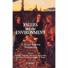 Alexander, Chase, Guerrier, Values   the Environment: A Social Science Perspecti