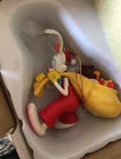 Disney Grolier Roger Rabbit In Box Christmas Decoration Ornament