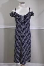 ESCADA Women's Black and White Polka Dot Shift Dress Size 38 US 6 (DR900