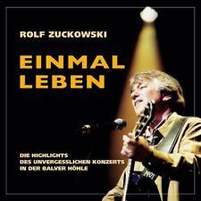 ROLF FÜR ERWACHSENE ZUCKOWSKI - EINMAL LEBEN  CD NEUF