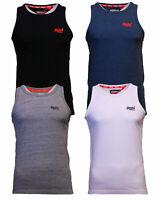 Superdry Mens New Summer Orange Label Vintage Emb Vest Top Blue White Grey Black
