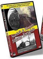Norfolk & Western Steam Freights Greg Scholl Video DVD