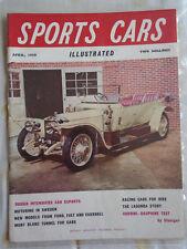Sports Cars Illustrated Apr 1959 Volvo 122S, Humber Hawk Estate Car