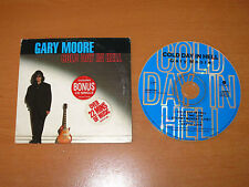 GARY MOORE - COLD DAY IN HELL - Australia CD Single Cardsleeve 4 Tracks