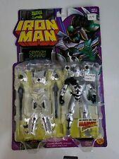 Iron Man Toybiz War Machine 2 Misprint Card