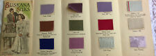 Victorian Fashion & Fabric Silk Color Card Swatches Letter 1910 Suskana NY Mill