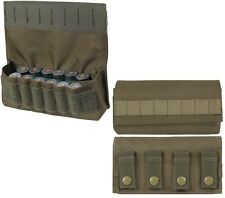 OD Green Military Law Enforcement Tactical Shotgun MOLLE Ammo Holder Pouch 51116