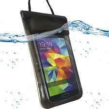 Wasserdicht Strand Beach Bag Tasche Case Schutz Hülle für Huawei P9 SCHWARZ