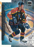 KELLY BUCHBERGER THRASHERS AUTOGRAPH AUTO 99-00 PACIFIC DYNAGON ICE #14 *17456