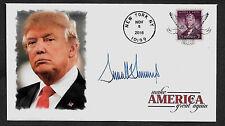 Donald Trump Election Day Ltd. Edt. Commemorative Envelope Repro Autograph. 1024