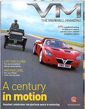 Vauxhall Magazine Spring 2003 UK Market Brochure VX220 Signum Frontera