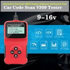Car V309 Scanner Code Tester Automotive Obdii Display Diagnostic Reader Tool