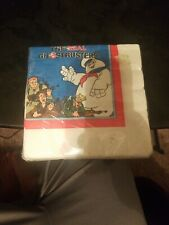"""Vintage 1986 The Real Ghostbusters lot of 16 Napkins 9 7/8"""" x 10"""""""