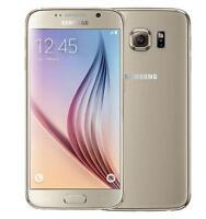 New Unlocked Samsung Galaxy S6 SM-G920F 32GB 16MP 4G LTE 3GB RAM Smartphone Gold