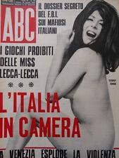 ABC rivista erotico politica n°32 1968  [C55]