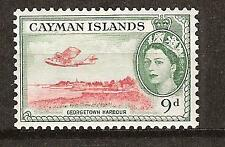 CAYMAN ISLANDS # 130 MNH GEORGE TOWN HARBOR & PLANE