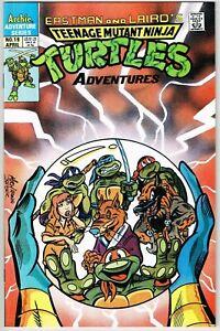 Teenage Mutant Ninja Turtles Adventures #19 (1989) - 9.4 NM *TMNT*