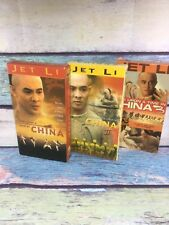 Once Upon a Time in China 1 2 3 VHS Lot Of 3 Jet Li (m0) (reference Bruce Lee)