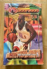 1993-94 Topps Finest Basketball box factory sealed - possible Jordan Refractor
