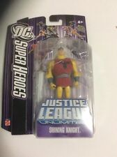 DC Superheroes Justice League Unlimited SHINING KNIGHT NEW Purple Card