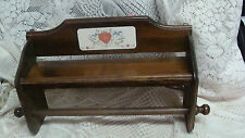 International China MARMALADE (GEESE)  Wooden  Paper Towel Holder RACK