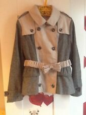 100% AuthenticKids Burberry Jacket Gabardine Trench Age 6 Excellent Condition