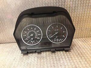 BMW Compteur Instrumnt Ensemble En Mph 1 2 Série F20 F22 2.0d B47 9295445