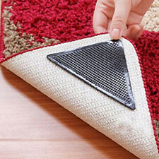 Rug Carpet Mat Grippers Non Slip Anti Skid Reusable Washable Silicone Grip