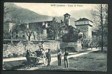 Locarno ( Svizzera ) : Casa di Ferro - cartolina non viaggiata,  primi '900