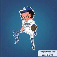 LA/Betty Boop/ Dodgers/ Cartoon/ Anime/ Sport Fan