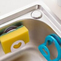 Sponge Holder Suction Cup Convenient For Home Kitchen Holder Tools Gadget Decor