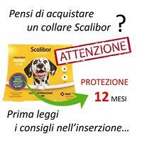 INFORMAZIONE - Scalibor Collare Antiparassitario per Taglia Cane Grande / 65 cm.