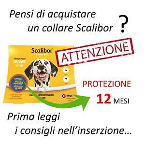 INFORMAZIONE - Scalibor Collare Antiparassitario per Taglia Cane Grande / 65 cm