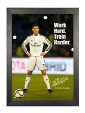"Football Quote 2 Sport Motivation /""Eat Sleep Train Play Football/"" Poster Photo"