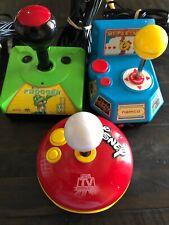 Jakks Plug And Play TV Game LOT 3 Disney, Mrs. Pacman and  Frogger