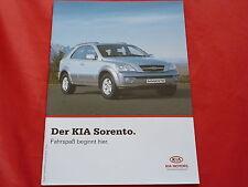 KIA Sorento 2.4 16V 2.5 CRDi 3.5 V6 Prospekt von 2005