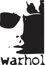 Sticker Andy Warhol 101 - 57x83 cm
