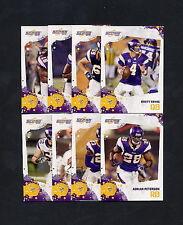 2010 Score Minnesota Vikings TEAM SET Brett Favre