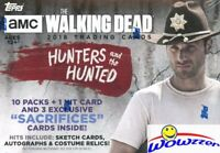 2018 Topps The Walking Dead The Hunters and the Hunted Sealed Blaster Box-1 HIT
