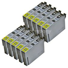 10 kompatible Druckerpatronen black für den Drucker Epson SX435W