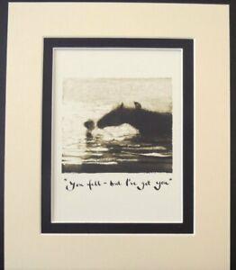 Charlie Mackesy -The Boy The Mole The Fox The Horse -  Double Mount Ready to Fra
