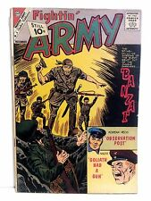 Fightin' Army #44, 1961, Charlton, Very Good/Fine condition *