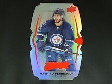 2016-17 UD MVP Color & Contours TEAL #151 Mathieu Perreault Winnipeg Jets