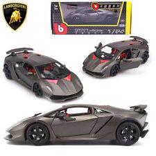 BBurago 1:24 Lamborghini Sesto Elemento Diecast Model Car Burago Vehicle Kid Toy