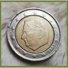 ___2 Euro Münze✔️___ ___Belgien_2005___   🍃Fehlprägung!🍃