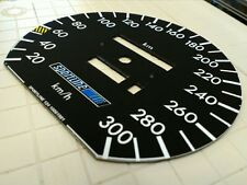 Mercedes 300CE W124 reproduction 300km/h SPORTLINE speedometer cluster dial face